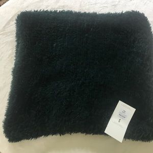 NWT Faux Fur Pillow Cover Deep Forest